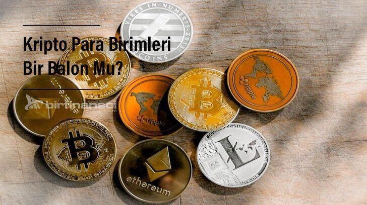 Kripto Para Birimleri Bir Balon Mu?, Bir Finansçı