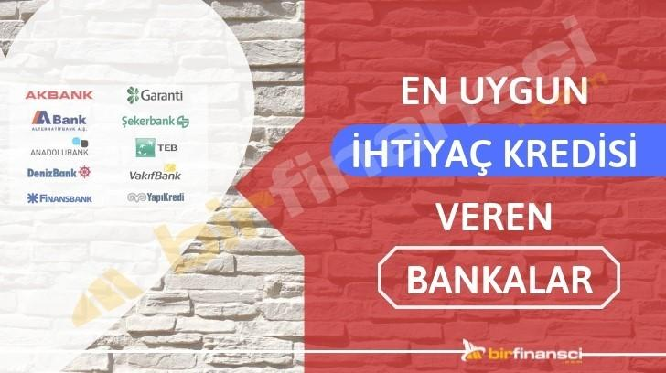 En Uygun İhtiyaç Kredisi Veren Banka, Bir Finansçı
