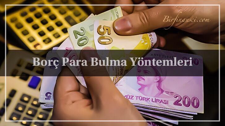 Borç Para Bulma Yöntemleri, Bir Finansçı