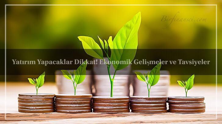 Yatırım Yapacaklar Dikkat! Ekonomik Gelişmeler ve Tavsiyeler, Bir Finansçı
