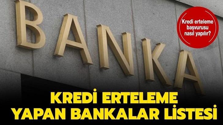 Hangi Bankalar Kredi Erteleme Yapıyor?, Bir Finansçı