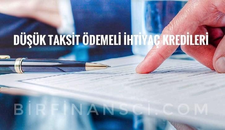 Düşük Taksit Ödemeli İhtiyaç Kredileri, Bir Finansçı