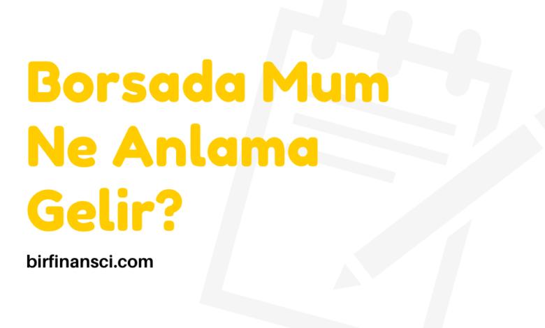 Borsada Mum Ne Anlama Gelir?, Bir Finansçı