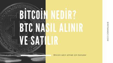 Bitcoin Nedir? BTC Nasıl Alınır ve Satılır?, Bir Finansçı