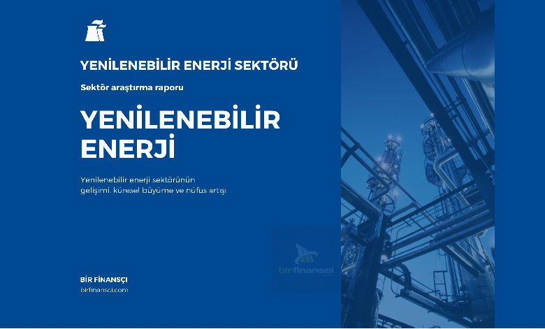 Yenilenebilir Enerji Sektör Araştırması, Bir Finansçı